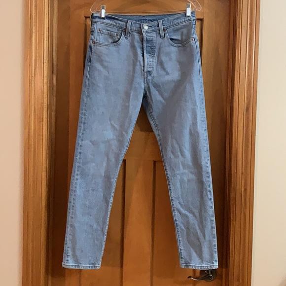 LEVI'S Premium 501 High Rise Skinny Jeans Size 29